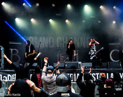 Blind Channel at Nummirock 2016