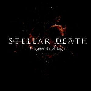 Stellar Death logo in tech font and red flames